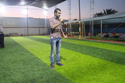 إفتتاح ملعب حديقة الأمراء - خان يونس