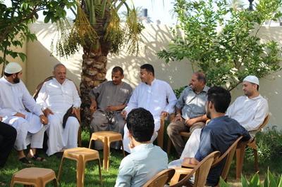زيارة موقع الفرا ولجنة الأنشطة للدكتور: جواد حسني الفرا
