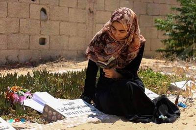 بسمة كوارع.. وعدت والدها بالتفوق فأهدته نجاحها في قبره