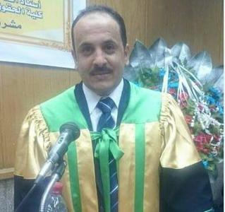 حصول د.نايف عبد العال الفرا على درجة الدكتوراه في القانون