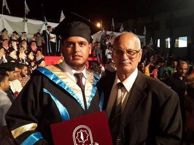 تخرج المحامي : عبد الستار محمد  عبد الرحمن الفرا
