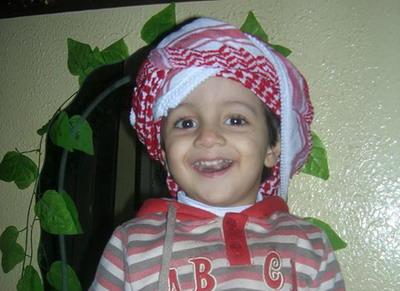 اجراء عملية جراحية للطفل : محمد اسلام جمال الفرا
