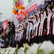جامعة فلسطين تحتفي بتخريج كوكبة من طلبتها تحت عنوان فوج فلسطين الثالث