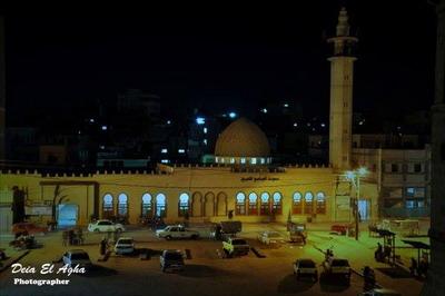 مبادرة لاعادة بناء مسجد خان يونس الكبير