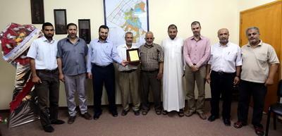نادي معن الرياضي يثمن جهود بلدية خان يونس في خدمة قطاع الرياضة