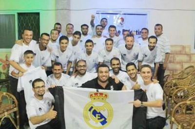 رابطة ريال مدريد في فلسطين تحتفل بانطلاقتها الرسمية في محافظات قطاع غزة
