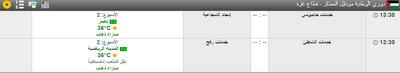 مباريات اليوم دوري الوطنية موبايل الممتاز -غزة