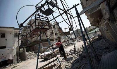 العيد في غزة... لا مكان للفرح