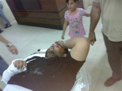 تعرض المهندس : طاهر جاسر الفرا لحادث سير
