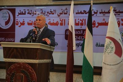 عيد الخيرية تبدأ مشروع الإنارة الآمنة لبيوت غزة