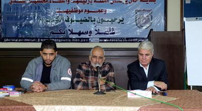 """بلدية خان يونس والهلال الأحمر تنظمان دورة في """"الإخلاء الآمن"""""""