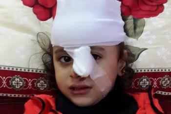 تهنئه بالسلامه  للطفلة /انتصار عبد الستار الفرا