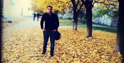 تعرض الطالب  د . احمد جاسر طاهر الفرا لكسر في يده - اكرانيا