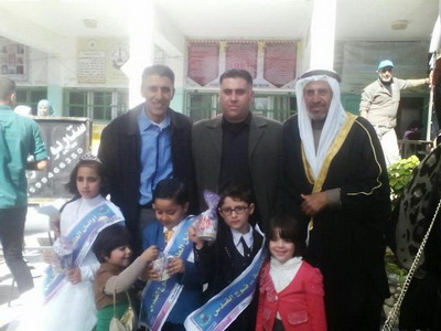 مدرسة عيلبون الأساسية المشتركة تحتفي بطلابهآ الأوائل