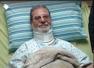 عاد لـغزة اللواء / دُمر توفيق حافظ الفرا بعد رحلة علاج