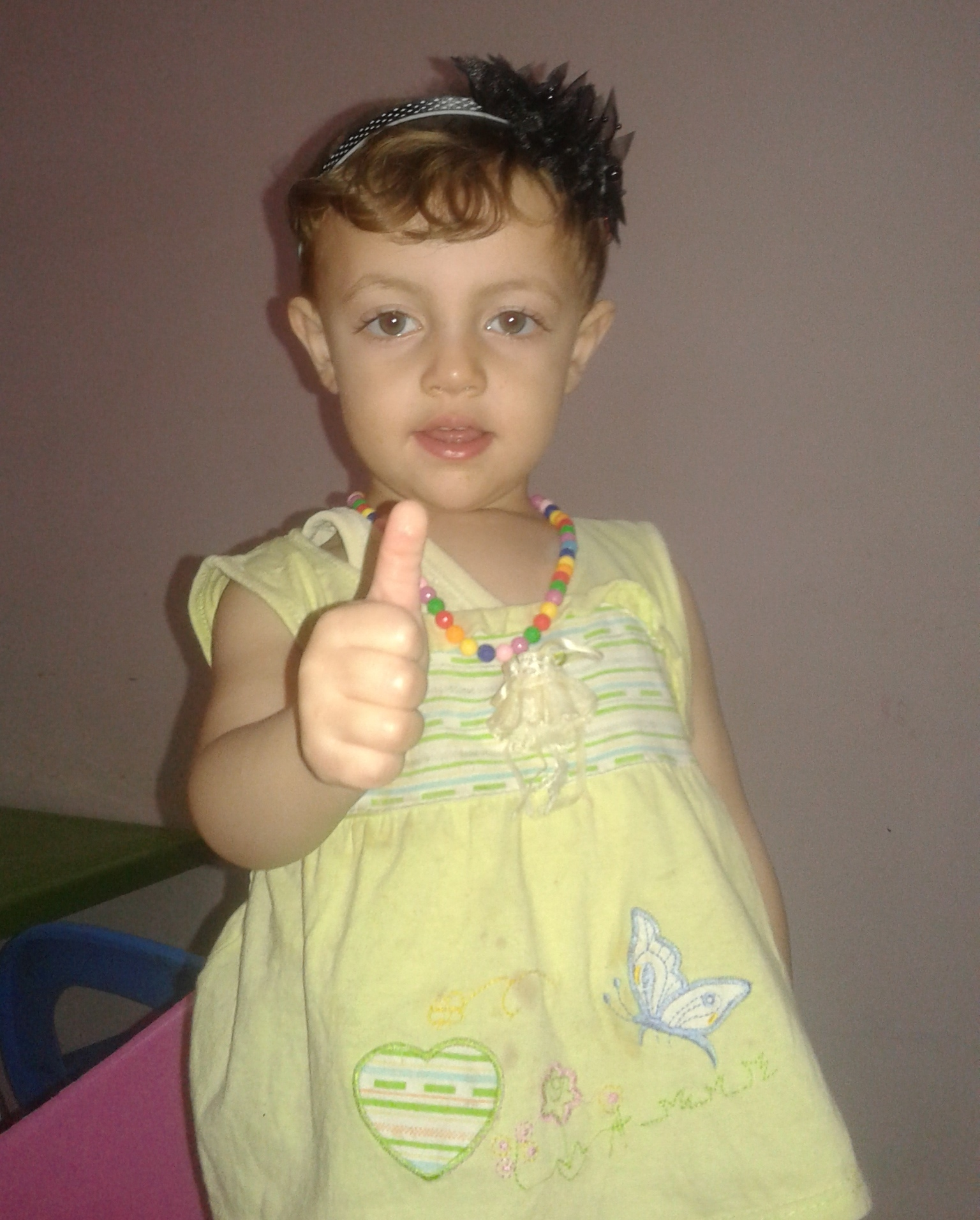 تهنئة بالسلامة للطفلة : جوري شادي ابراهيم عبدو الفرا