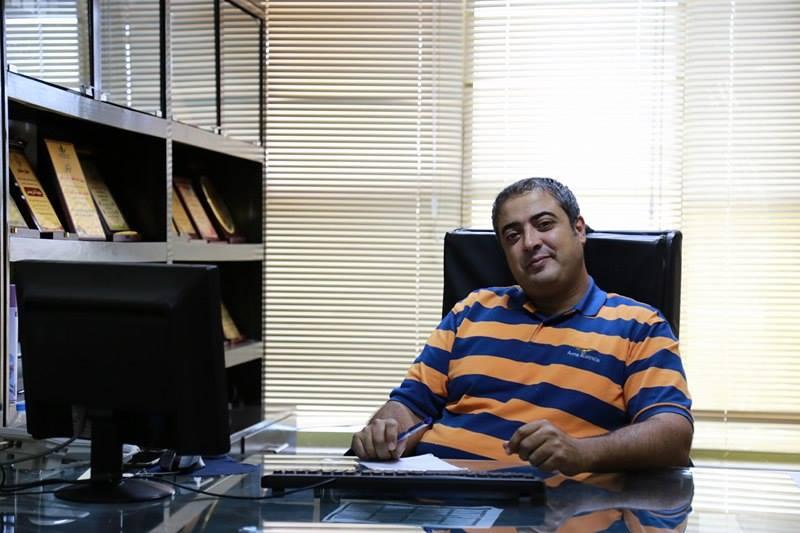 ترقية الاستاذ: اسلام جمال رزق الفرا الى منصب سكرتير رئيس بلدية خانيونس