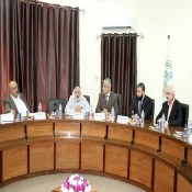 الفرا رئيسـًا للجنة إعداد الخطة الاستراتيجية للكلية الجامعية للعلوم والتكنولوجيا