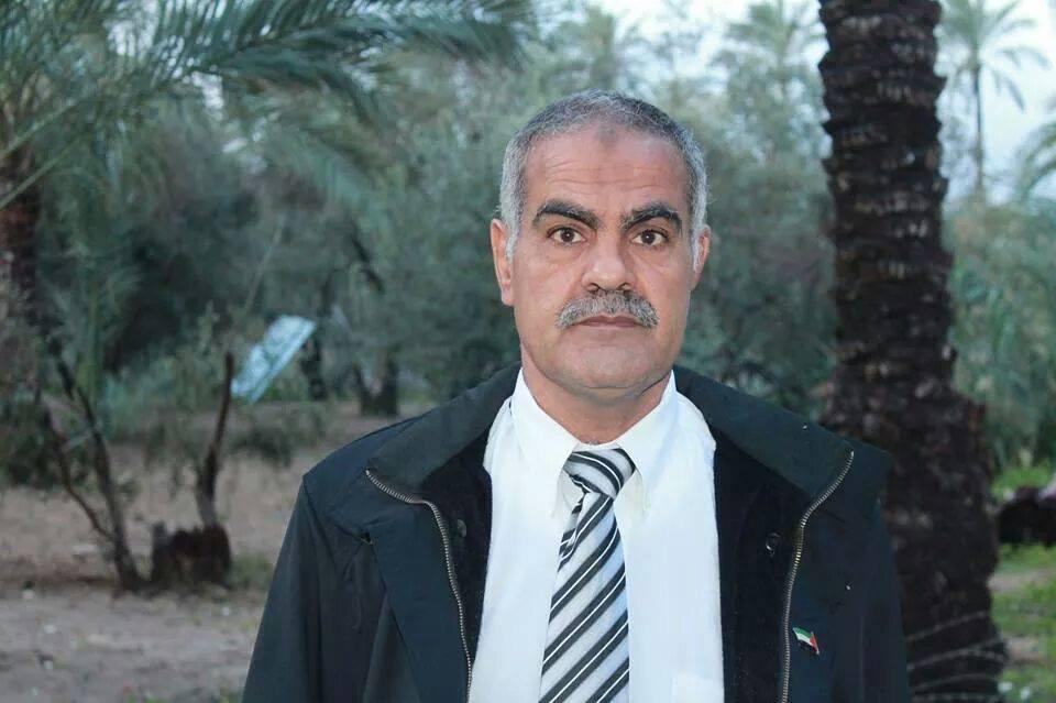 """الأستاذ / رزق سليمان أحمد الفرا """" أبو مازن """" يجري عملية جراحية """" الغضروف """""""