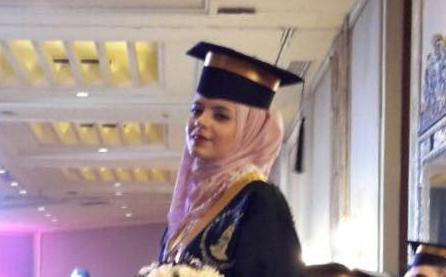 تخرج الدكتورة/ حنان حسني عبد العزيز الفرا