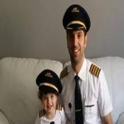 ترقية الكابتن / ماهر احمد محمد الفرا إلى رتبة قبطان طيارة