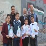 مدرسة الشهيد ابواحميد تحتفي بطلابها الأوائل
