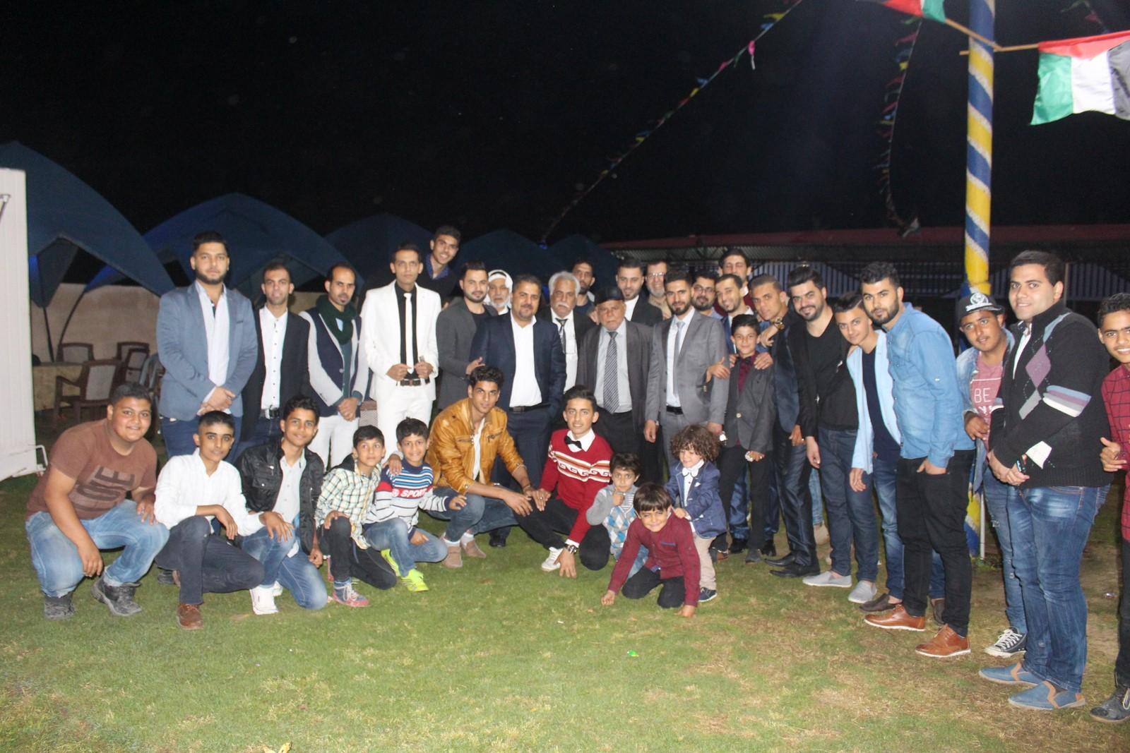 حفل زفاف الأستاذ / سليمان زياد سليمان الفرا