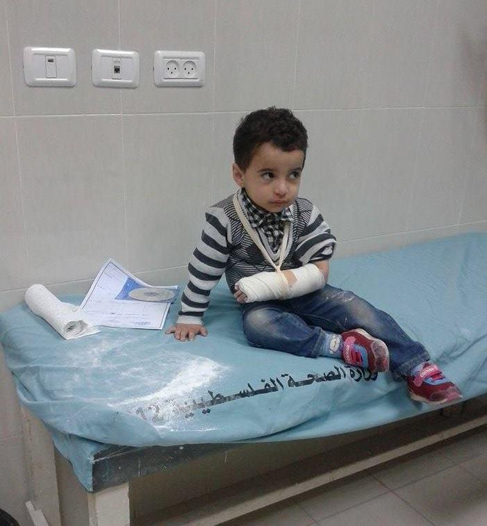 دعوة بالشفاء للطفل : مصطفى عبدالله مصطفى الفرا