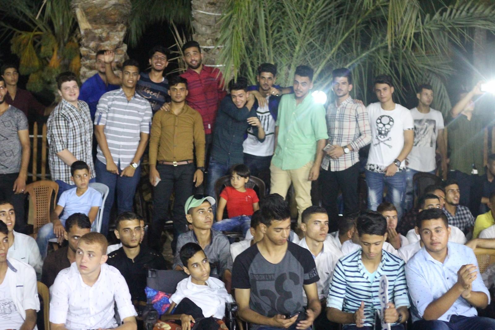 برعاية جامعة فلسطين، أقام المجلس العام لعائلات خان يونس حفل تكريماً للطلبة الناجحين الفرع الأدبي