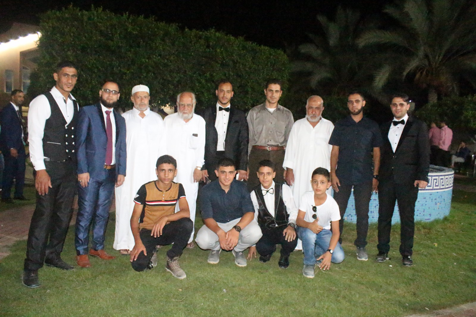 حفل زفاف أ.كمال سليم جلال الفرا