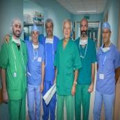 بقيادة الفرا فريق ايطالي طبي يجري عمليات جراحية نوعية داخل مستشفيات قطاع غزة