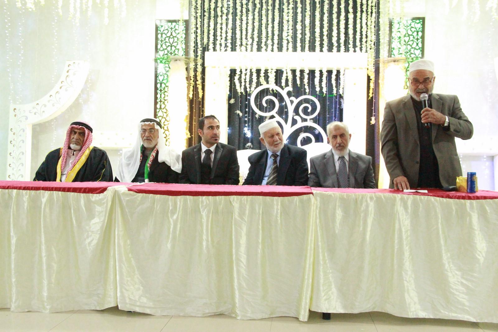 حفل زفاف أ.مسعد محمد الفرا