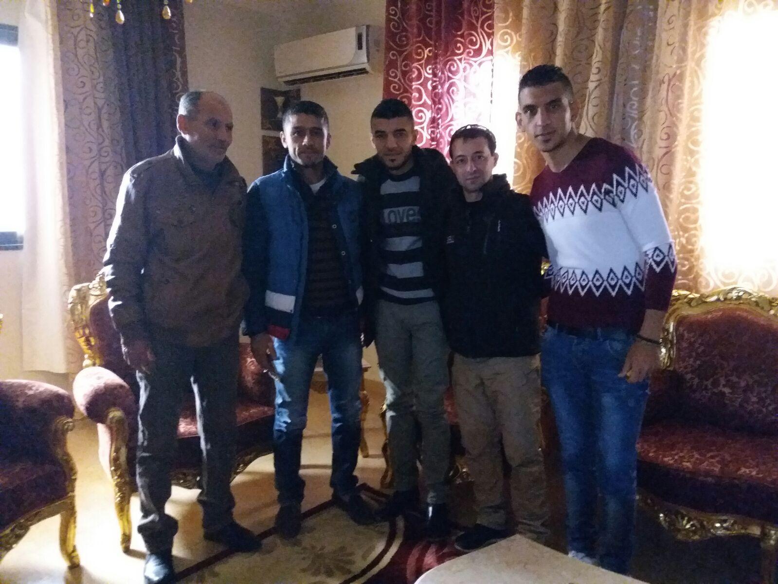 الرائد عادل محمد البلتاجي يزور قطاع غزة برفقة وفد الحمدلله