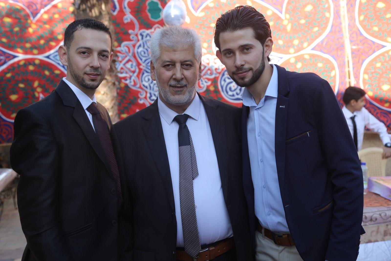 عقد قران أ.عاصم مازن عبدالمجيد الفرا