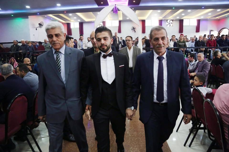 حفل زفاف الأستاذ : محمود معاذ الفرا
