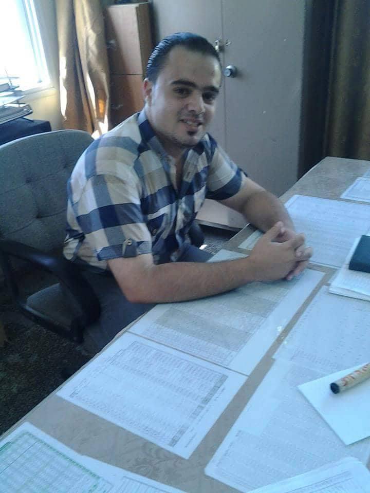 الاستاذ : محمد محمود محمد الفرا يعود الى ارض الوطن بعد رحلة دراسة في مصر