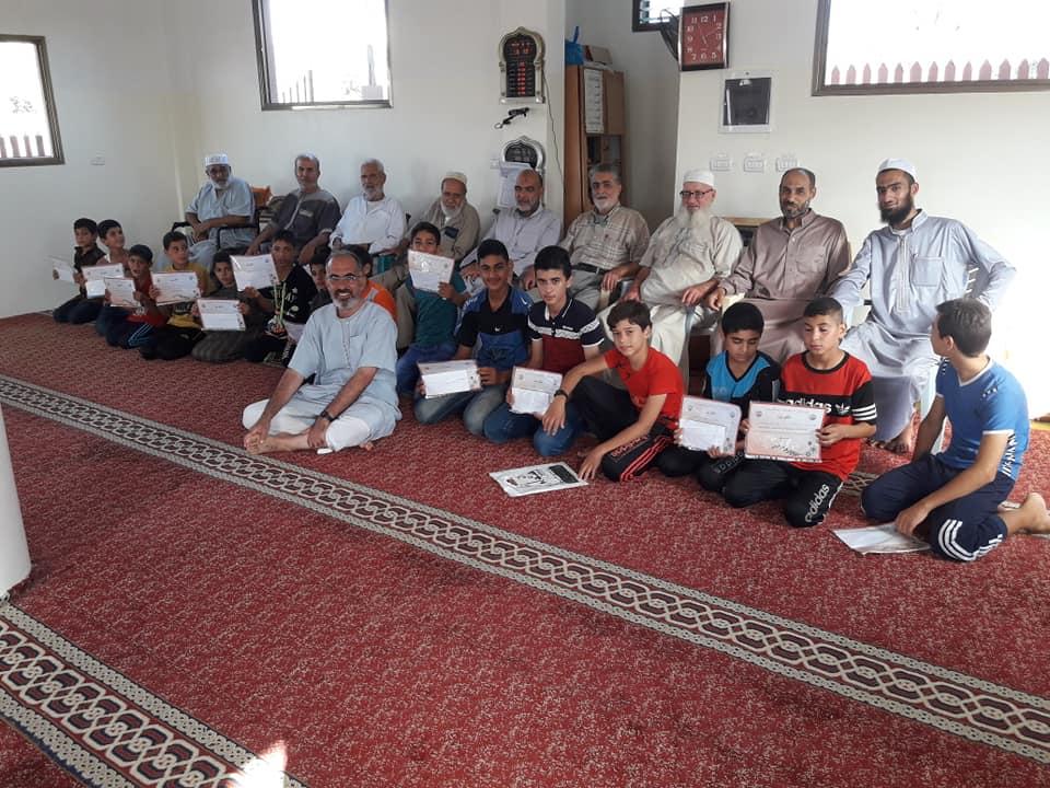 اختتام دورة حفظ القران الكريم في مسجد النور بالقرارة