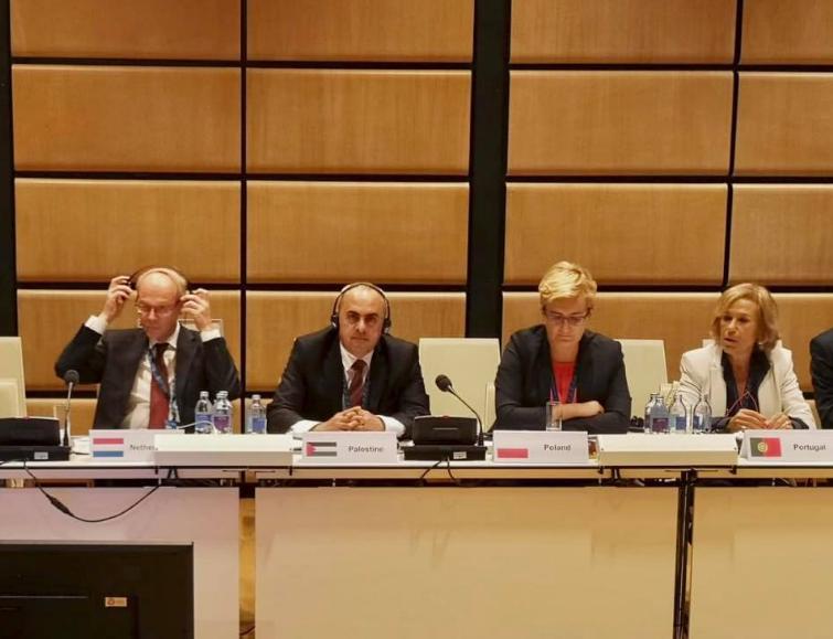 السفير الفرا يمثل دولة فلسطين في اجتماع الاتحاد من اجل المتوسط