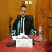 حصول الباحث أ.عرفات إبراهيم أحمد الفرا على درجة الماجستير