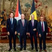 السفير الفرا يشارك في جلسة الحوار الاستراتيجي مع وزيري الخارجية والتعاون البلجيكيين