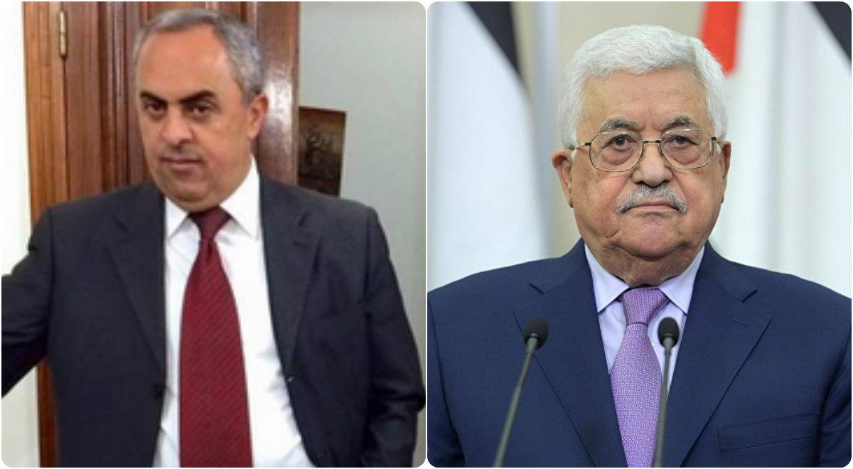 الرئيس عباس يعزي السفير الفرا بوفاة شقيقه