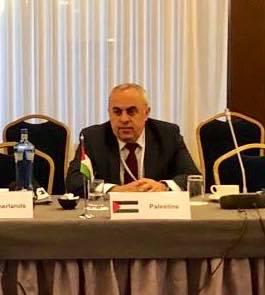 السفير الفرا يمثل فلسطين في اجتماع كبار المسؤولين للاتحاد الاوروبي