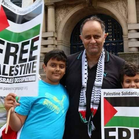 الناشط السياسي م. مشير قاسم الفرا يصل ارض الوطن قادماً من بريطانيا