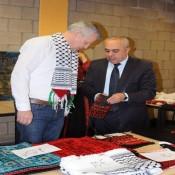 السفير الفرا يشارك بفعالية يوم التراث الفلسطيني في مدينة ميخلن البلجيكية