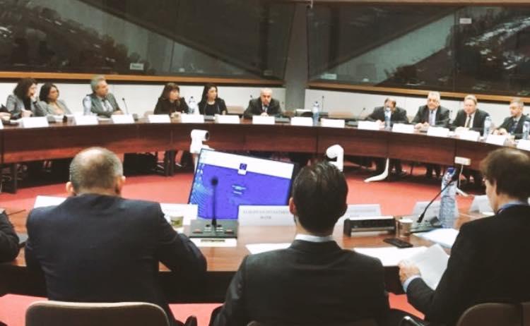 السفير الفرا يشارك في اجتماع اعمال مشروع محطة تحلية المياه لقطاع غزة