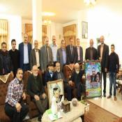 مجلس عائلة الفرا يزور ذوي الأسير البطل : رائف رامز الفرا