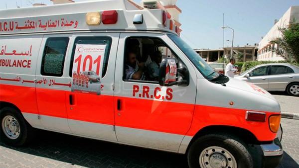 الطفل: خالد مصطفى احمد عايش الفرا يتعرض لحادث سير