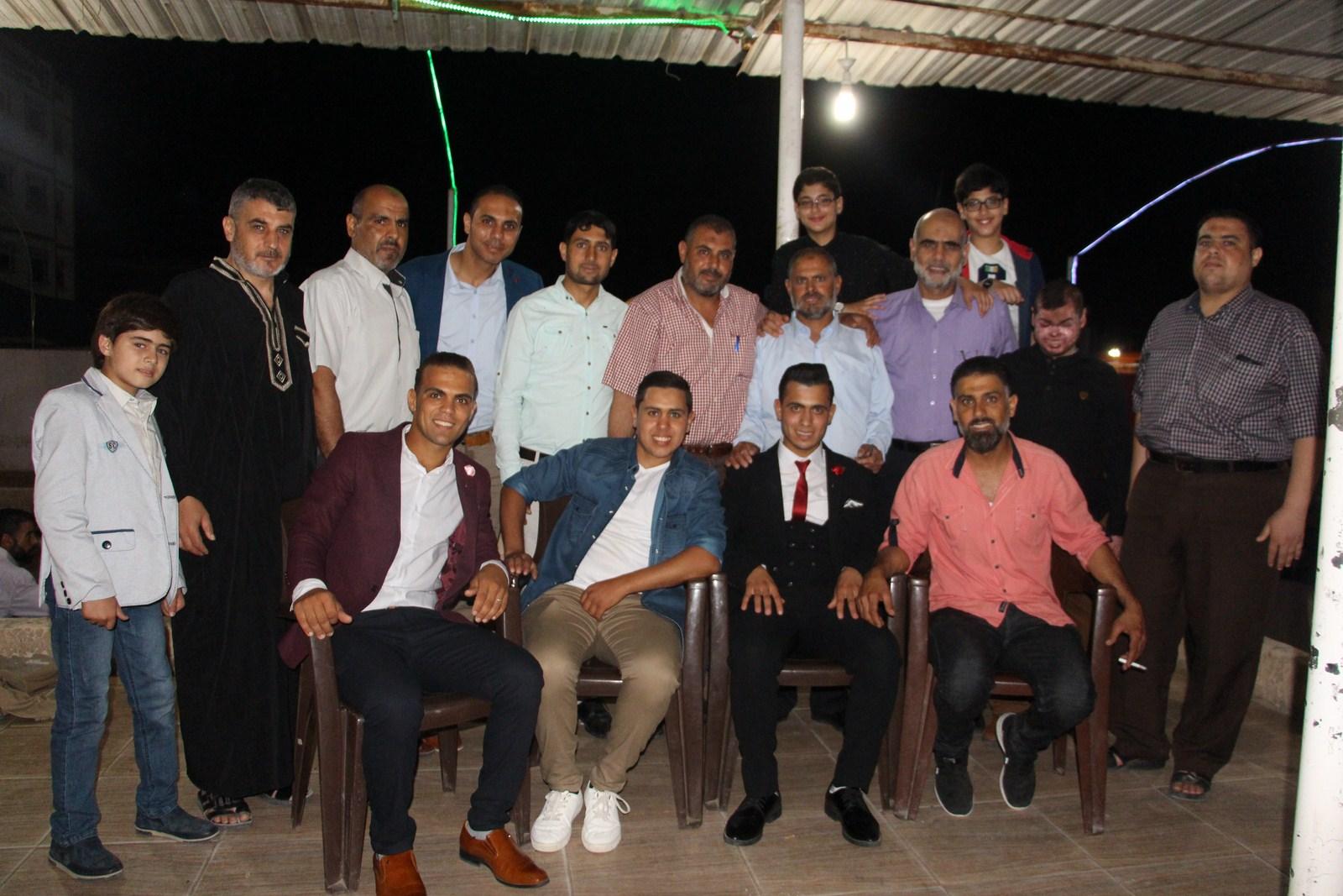 حفل زفاف الشاب عبدالرحيم معين سليمان الفرا