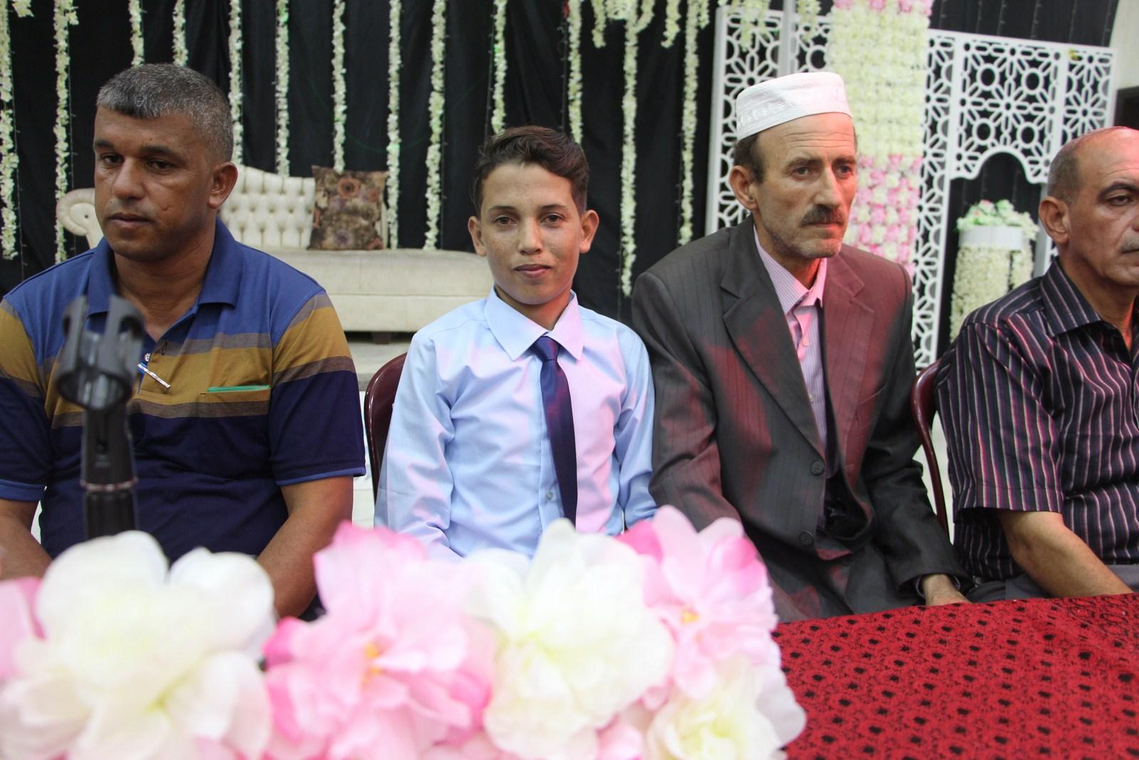 عقد قرآن وحفل زفاف أ.يحيى نصرالله عبدالحافظ الفرا