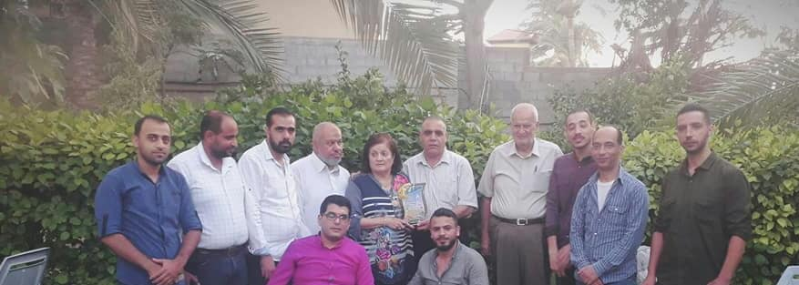 وفد طبي من مستشفى ناصر يزور د. مها قاسم الفرا